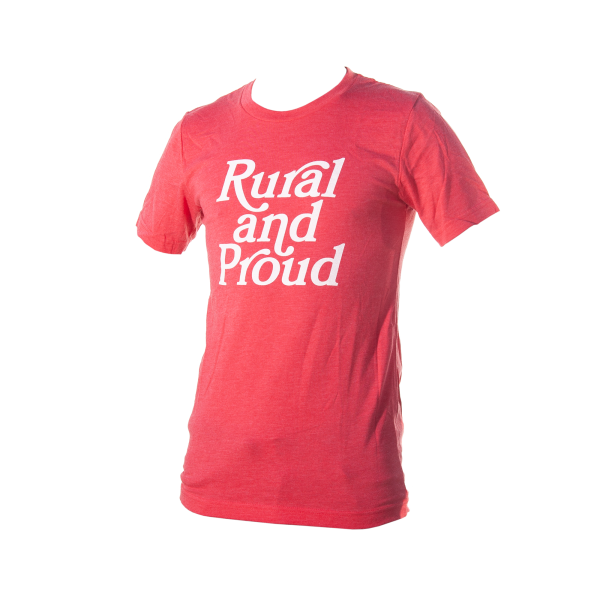 Rural and Proud T-shirt red