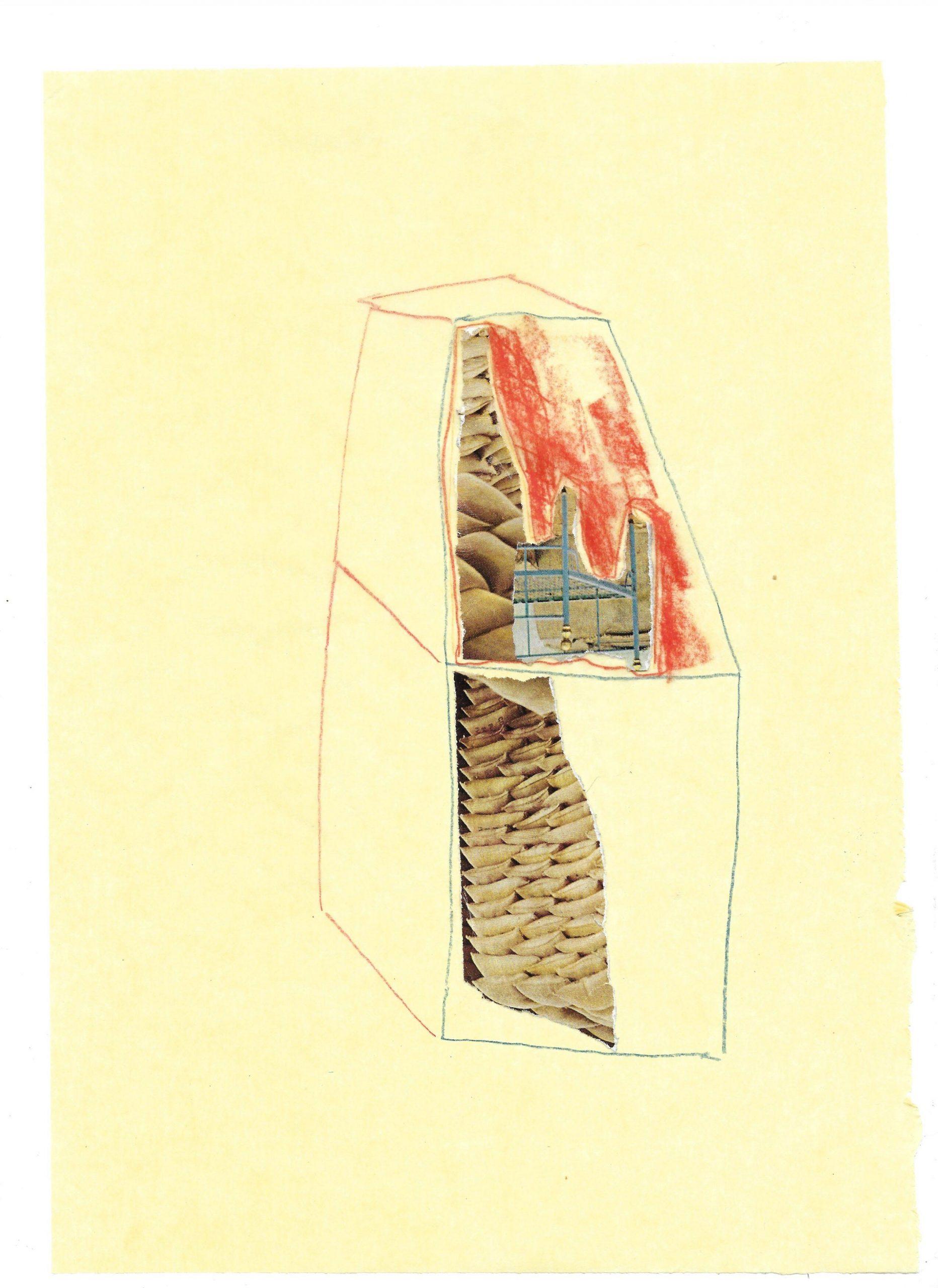 """Hut Study"" by Frances Erlandson (2020)"