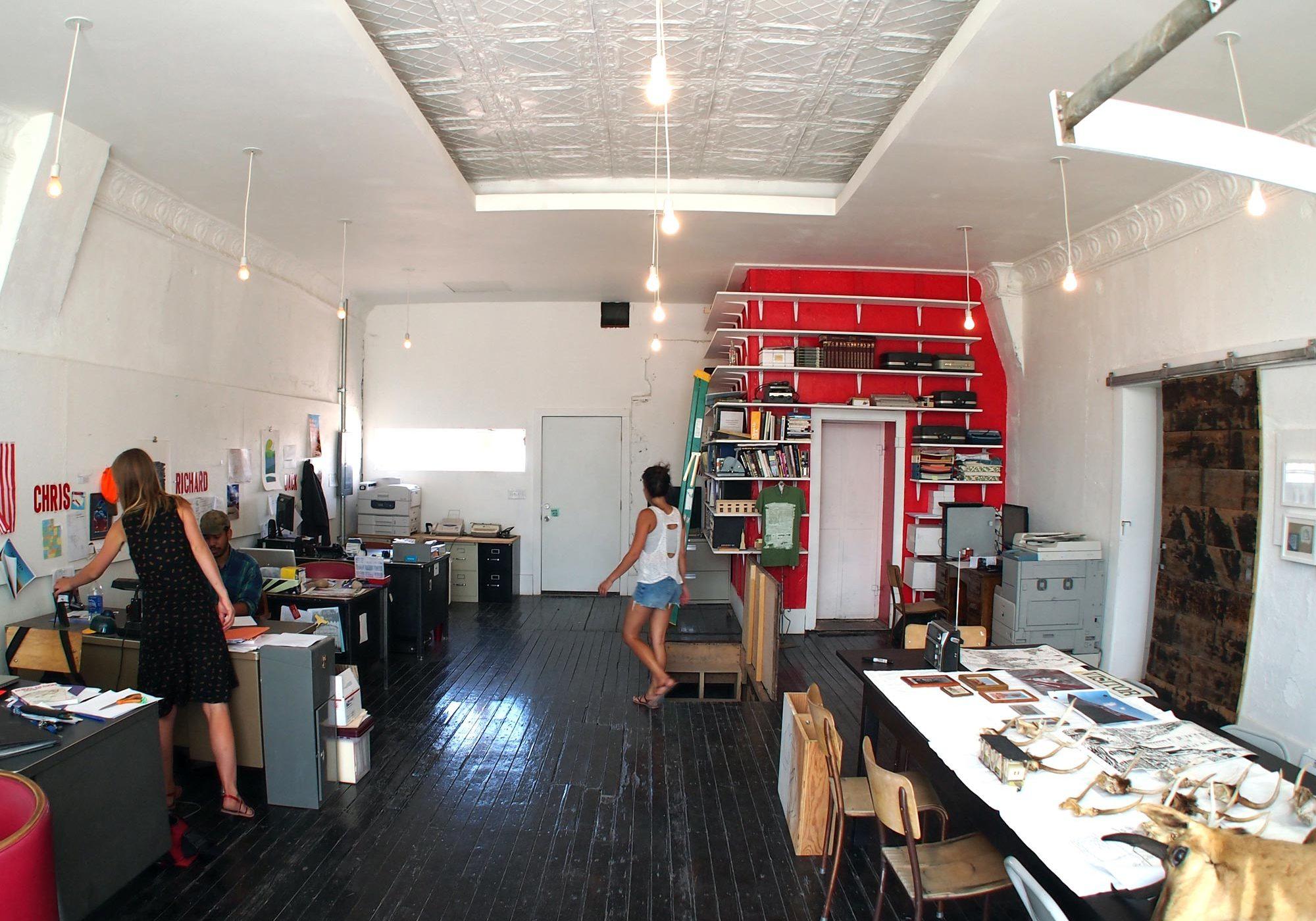 Epicenter headquarters after renovation