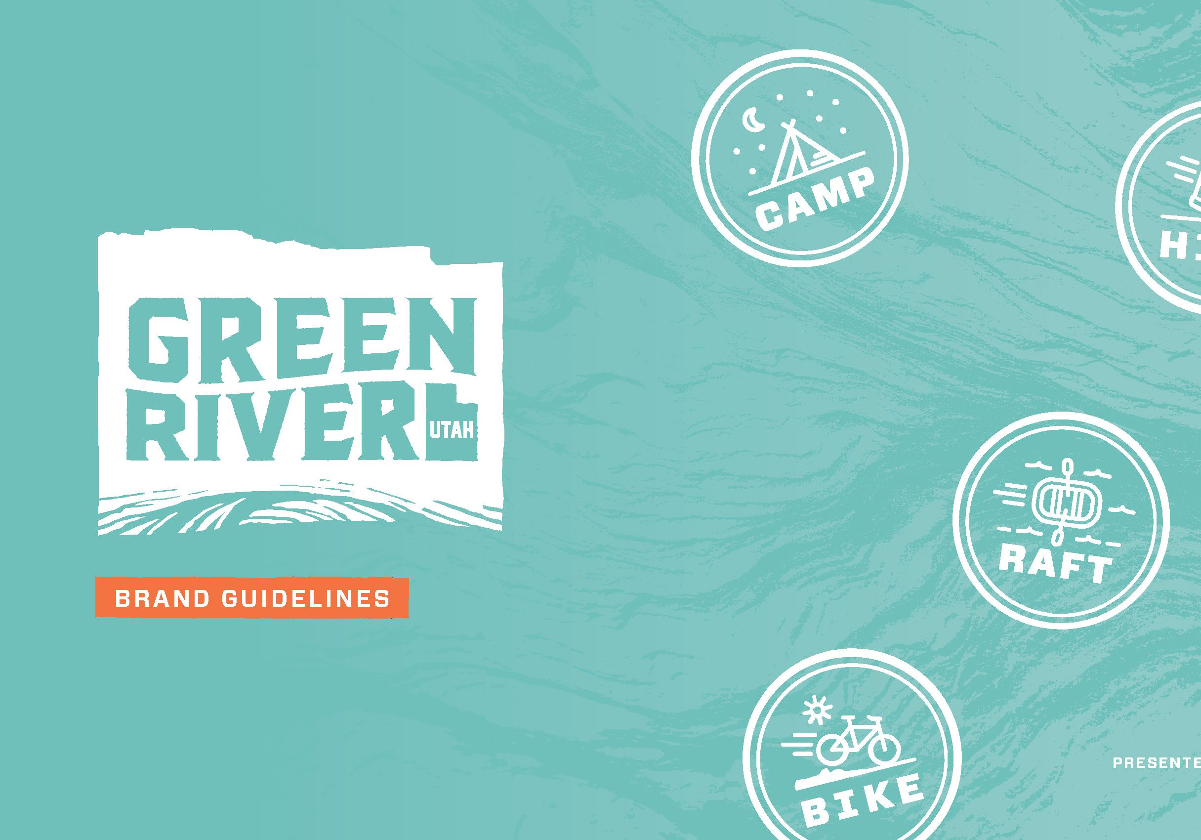 HUB worked with Green River citizens to create a new brand for the city